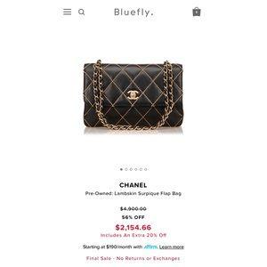 71b7f8ef4f8b CHANEL Bags - ‼️SALE‼ 💯% Auth. CHANEL surpique flap bag